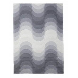grey - Wave rug 240 x 170 cm