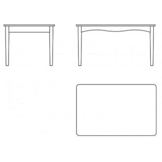 Bovirke table non-extendable