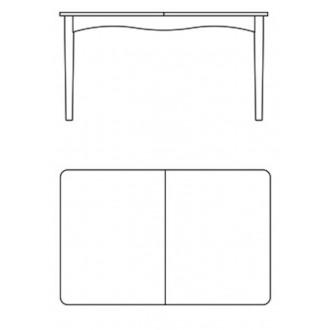 Bovirke table extendable