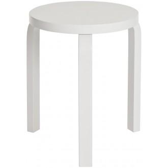 pieds et assise blanc -...