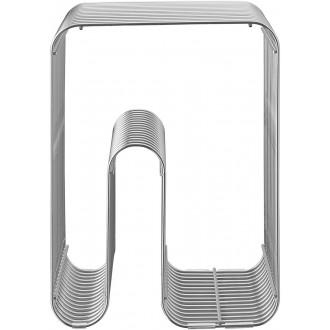 silver - Curva stool*
