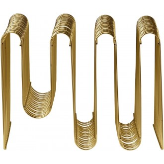 gold - Curva magazine holder