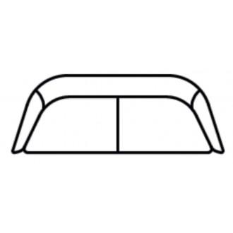 Boomerang 3-seater sofa