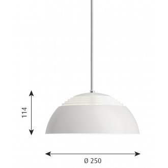 Ø25 cm AJ Royal - LED - white