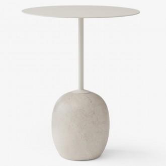 blanc ivoire / marbre Crema...