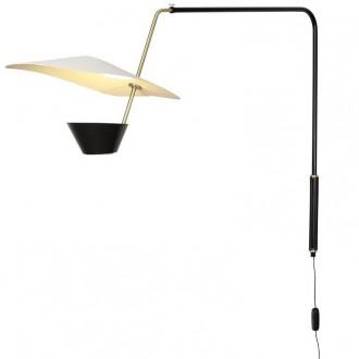 black & white G25 wall lamp