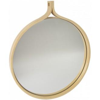 Comma mirror - natural ash...