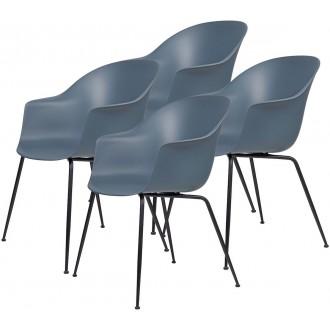lot de 4 chaises Bat...