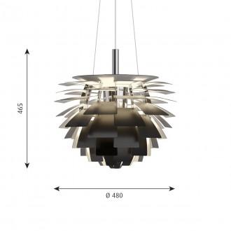 PH Artichoke black Ø48 cm