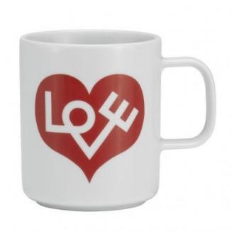red Love Heart - Coffee Mugs