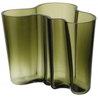 vase Aalto 160 mm, moss green