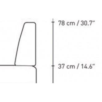 coussin dorsal pour BM0865