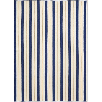 blue - Pinstripe blanket