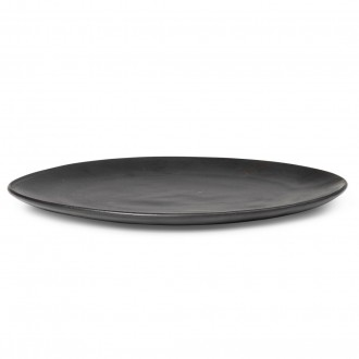 plate Ø22 cm – Flow black