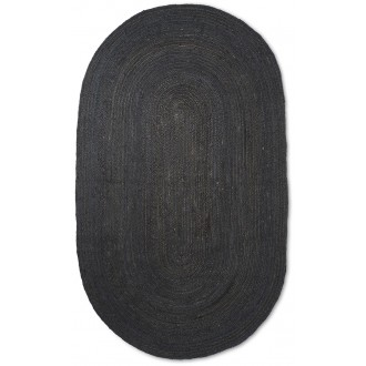 Eternal Jute Oval Rug –...