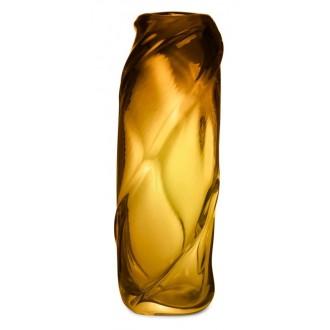 Water Swirl vase – Amber