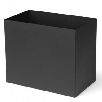 Plant Box Pot Large noir