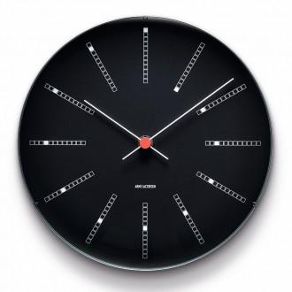 horloge Bankers - cadran noir