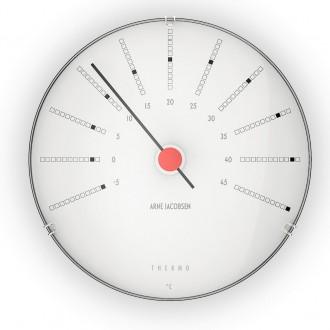 Thermomètre Bankers - Ø12cm