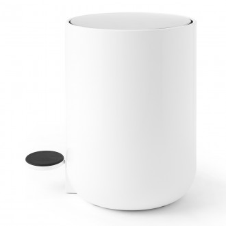 Norm - Pedal bin white - 4L