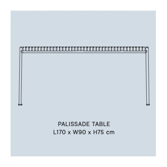 table rectangulaire -...