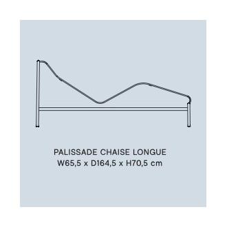 chaise longue - Palissade
