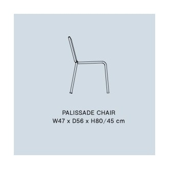 chaise - Palissade