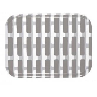 27x20cm - Siena tray, grey...