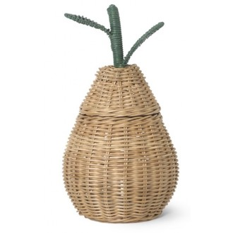 Large Pear Braided Storage