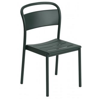 chaise vert foncé - Linear...