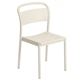 chaise blanche - Linear Steel