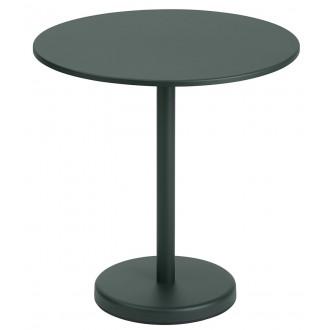 table Ø70 vert foncé -...
