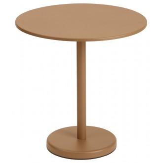 table Ø70 orange brûlé -...