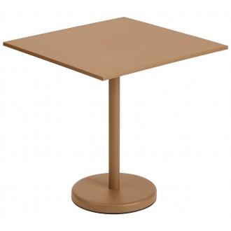 table 70x70 orange brûlé -...