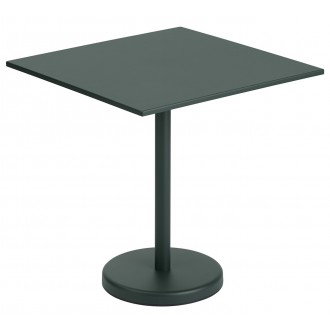 table 70x70 vert foncé -...
