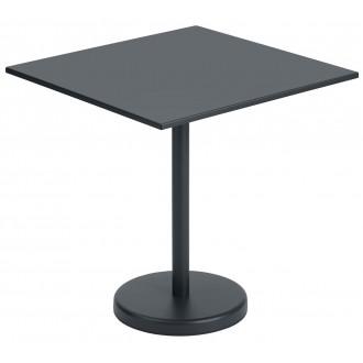 table 70x70 noir - Linear...