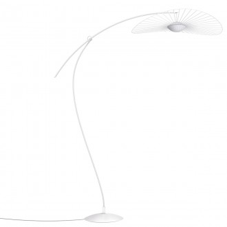 Blanc Ø110 cm – lampadaire...