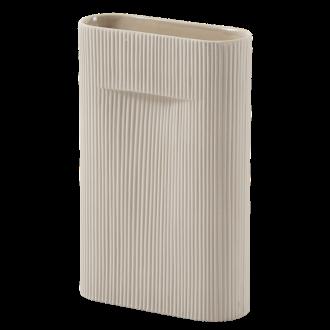 H35cm - beige - Ridge vase