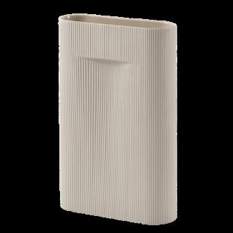H48,5cm - beige - Ridge vase