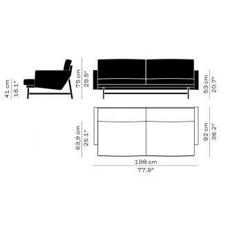 PL112 – Lissoni Sofa