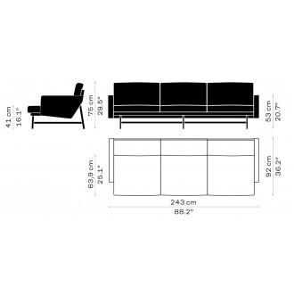 PL113S –  - Lissoni Sofa