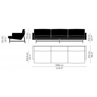 PL113 – Lissoni sofa
