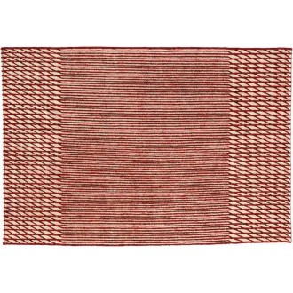 200x300cm - rouge - tapis Blur