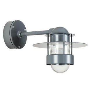 Grey - Albertslund wall lamp