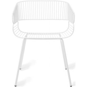 blanc - chaise Trame