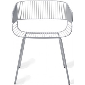 gris - chaise Trame