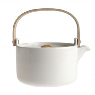 teapot 7dl - white – Marimekko
