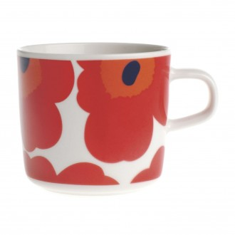 coffee cup 2dl - red and...