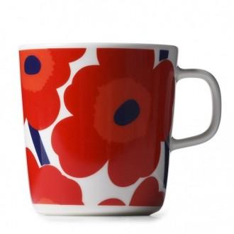 mug 4dl - red and white Unikko