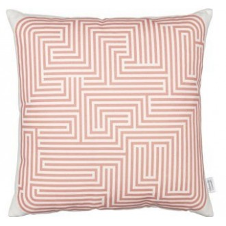 Maze Cushion - pink
